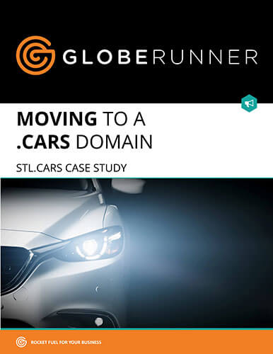 GlobeRunner, Moving to a .Cars Domain, STL.Cars case study